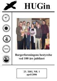 Borgerforeningens bestyrelse ved 100 års jubilæet - Hylkeinfo