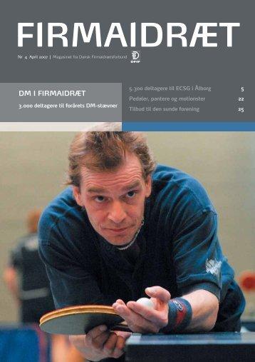 DM I FIRMAIDRÆT - Dansk Firmaidrætsforbund