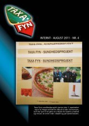 INTERNT - augusT 2011 - NR. 4 - Taxa Fyn