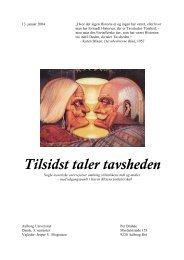 Tilsidst taler tavsheden - Dialektika.dk