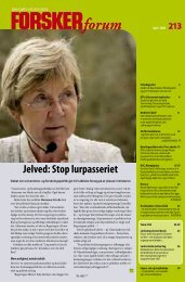 Jelved: Stop lurpasseriet - FORSKERforum