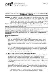 Referat af møde 13 i NI - udkast - DEFF