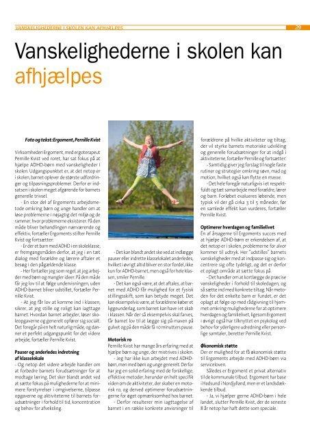 ADHD-bladet nr. 3, 2009 - ADHD: Foreningen