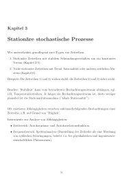 Stationäre stochastische Prozesse