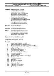 Den 23/10 2009 - Beredskabsforbundet
