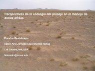 Perspectivas de la ecologia del paisaje en el manejo ... - The Jornada
