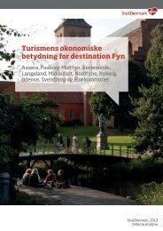 Turismens økonomiske betydning for destination Fyn - Udvikling Fyn