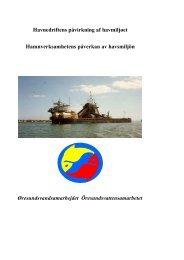 Havnedriftens påvirkning af havmiljøet Hamnverksamhetens ...