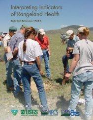 Interpreting Indicators for Rangeland Health, Version 4