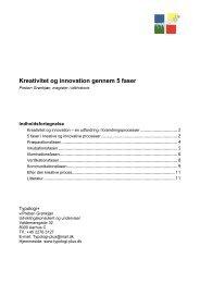 Kreativitet og innovation gennem 5 faser.pdf - Typologi