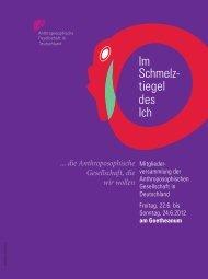 am Goetheanum - Anthroposophische Gesellschaft in Deutschland