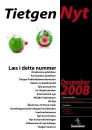 TietgenNyt - december 2008 - TietgenSkolen