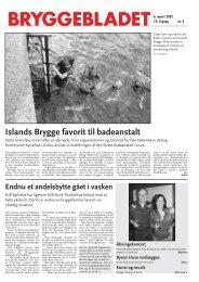 Islands Brygge favorit til badeanstalt - Bryggebladet