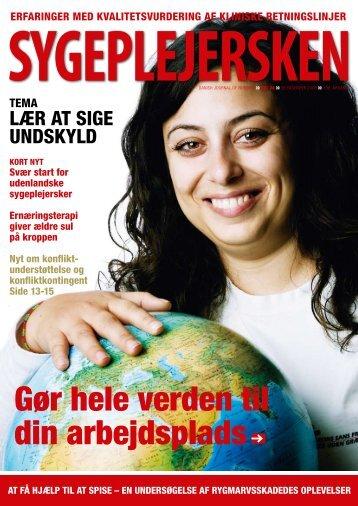 Sygeplejersken 2008 Nr. 24 - Dansk Sygeplejeråd