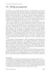 Kapitel 44. Østlig propaganda - DIIS