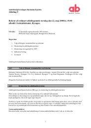 Afdeling 9 Referat af ordinært afdelingsmøde torsdag ... - Nordengen