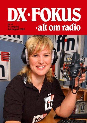 Nr. 4 37. årgang Juli-august 2009 - Dansk DX Lytter Klub