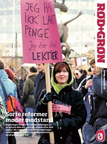 Sorte reformer møder modstand - Enhedslisten