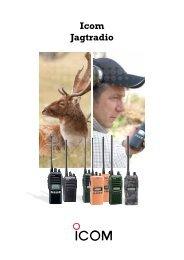 Icom Jagtradio katalog 2013 - VHF Group AS