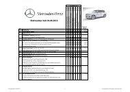 Download prisliste på ekstraudstyr (PDF) - Mercedes-Benz CPH