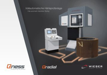 Vollautomatische Härteprüfanlage - Wieser Automation