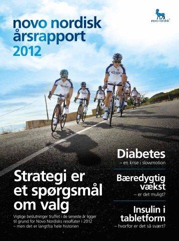 Årsrapport 2012 - Novo Nordisk