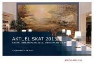 AKTUEL SKAT 2013 - Bech-Bruun