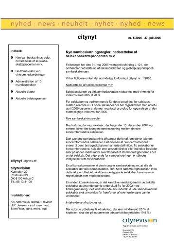 citynyt - rgd revision