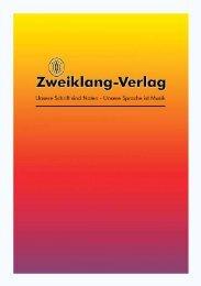 1 Zweiklang-Verlag