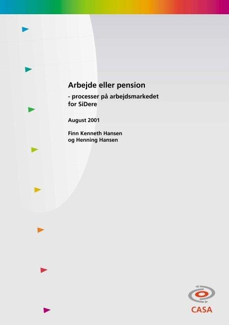 Download rapport - Center for Alternativ Samfundsanalyse