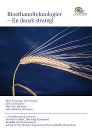 Bioethanolteknologier - Sønderjysk Landboforening