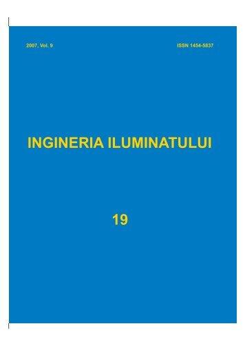 LIGHTING ENGINEERING CENTER – LEC - Journal of Lighting ...