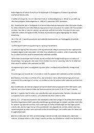 Bekendtgørelse af teknisk forskrift om forholdsregler til forebyggelse ...