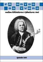 At oprette et musikbibliotek - Gentofte Bibliotekerne