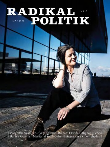 | Margrethe Vestager – fyrre og forår | Richard ... - Radikale Venstre