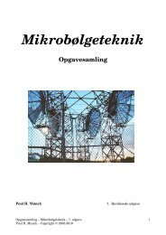 Opgavesæt 3 – Mikrobølgeteknik - Marineingeniør