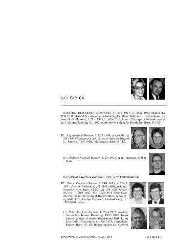 A11 B12 C4 A11 B12 C4 - Lauegaardsfamilien