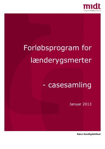 Casesamling, januar 2013 - Region Midtjylland