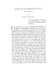 Aksel E. Christensen: Øresund og øresundstold, et historisk rids, s ...