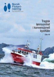 Tragisk lønnsomhet i konvensjonell kystflåte - Norsk Fiskerinæring