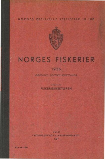 Norges fiskerier 1935