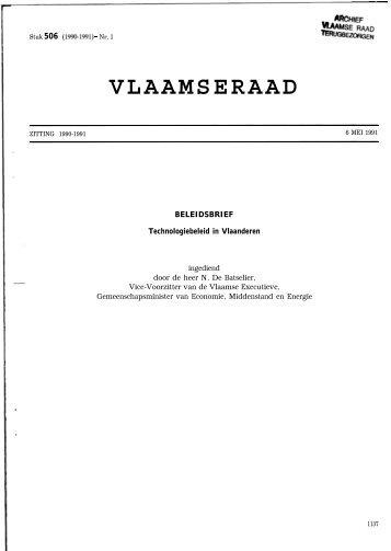 VLAAMSERAAD - Vlaams Parlement