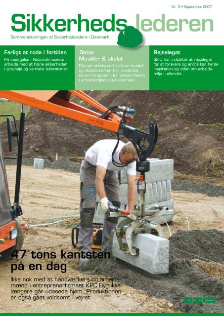 Medlemsblad nr. 3 2007