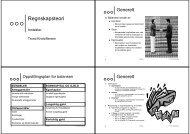 Regnskapsteori - Fagbokforlaget