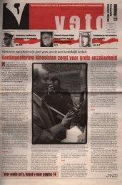 Kontingentering kinesisten zor - archief van Veto
