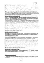 Sanktionslovgivning overfor kommunerne - Bupl