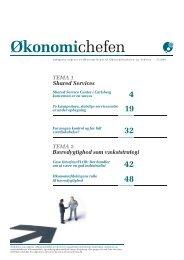 TEMA 1 - Shared Services - Økonomiforum