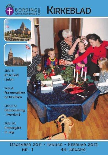 KIRKEBLAD - Bording Kirke