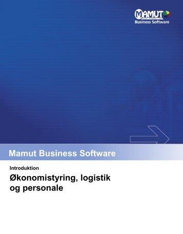Økonomistyring, logistik og personale - Mamut