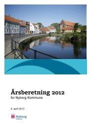 Årsberetning 2012 (pdf åbner i nyt vindue) - Nyborg Kommune